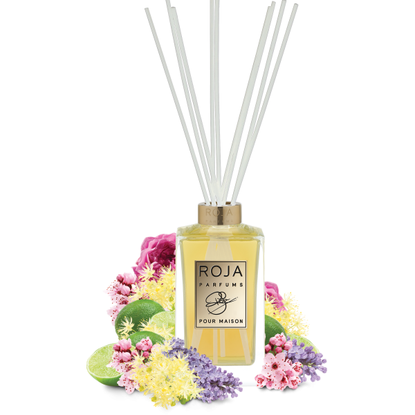 NEW YORK REED DIFFUSER POUR MAISON - LIME LILAC & WOOD NOTES
