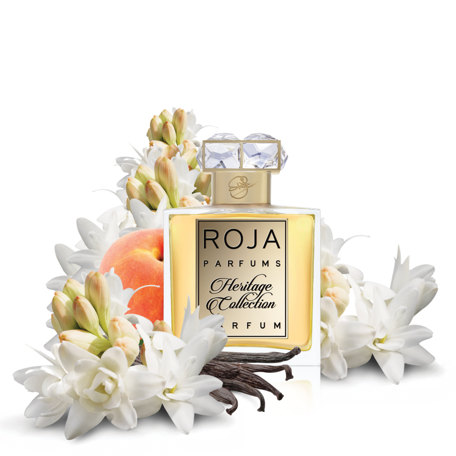 TUBEROSE HERITAGE COLLECTION - TUBEROSE PEACH & VANILLA -