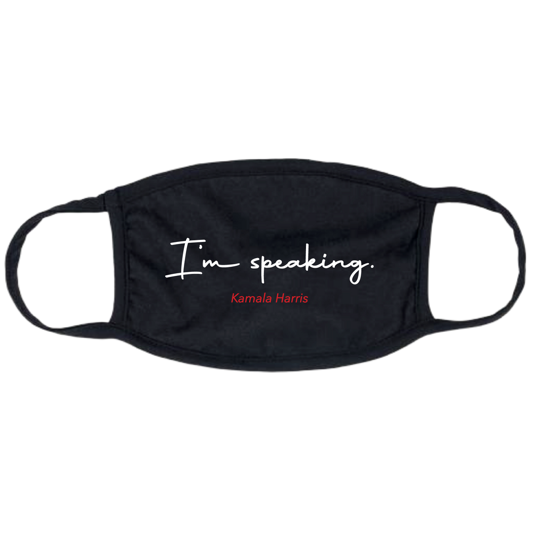 I'm Speaking Mask