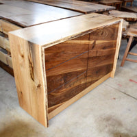 natural wood furniture made in collaboration with local Ontario woodworkers and makers.
