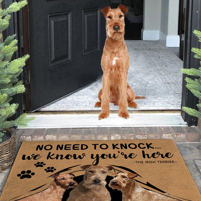 Custom Dog Doormat