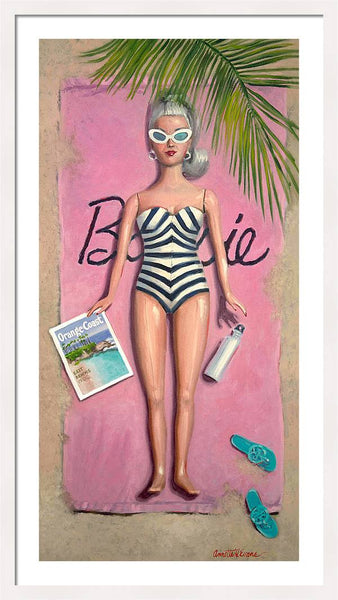 Barbie @ 60 #1 - Framed Print