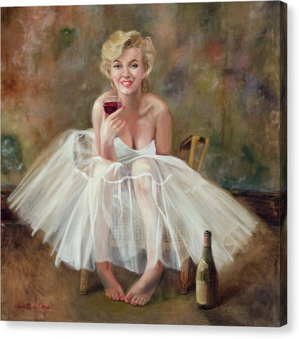 Marilyn Merlot - Canvas Print