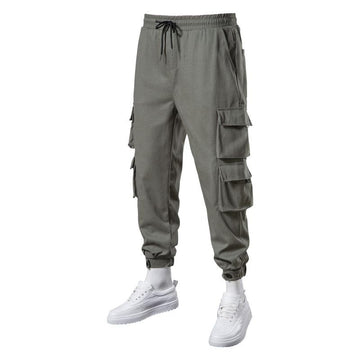 Men's Pants Clothing Spring summer trousers slack longs pocket Big size work clothes trouser male luxury designer fashion casual