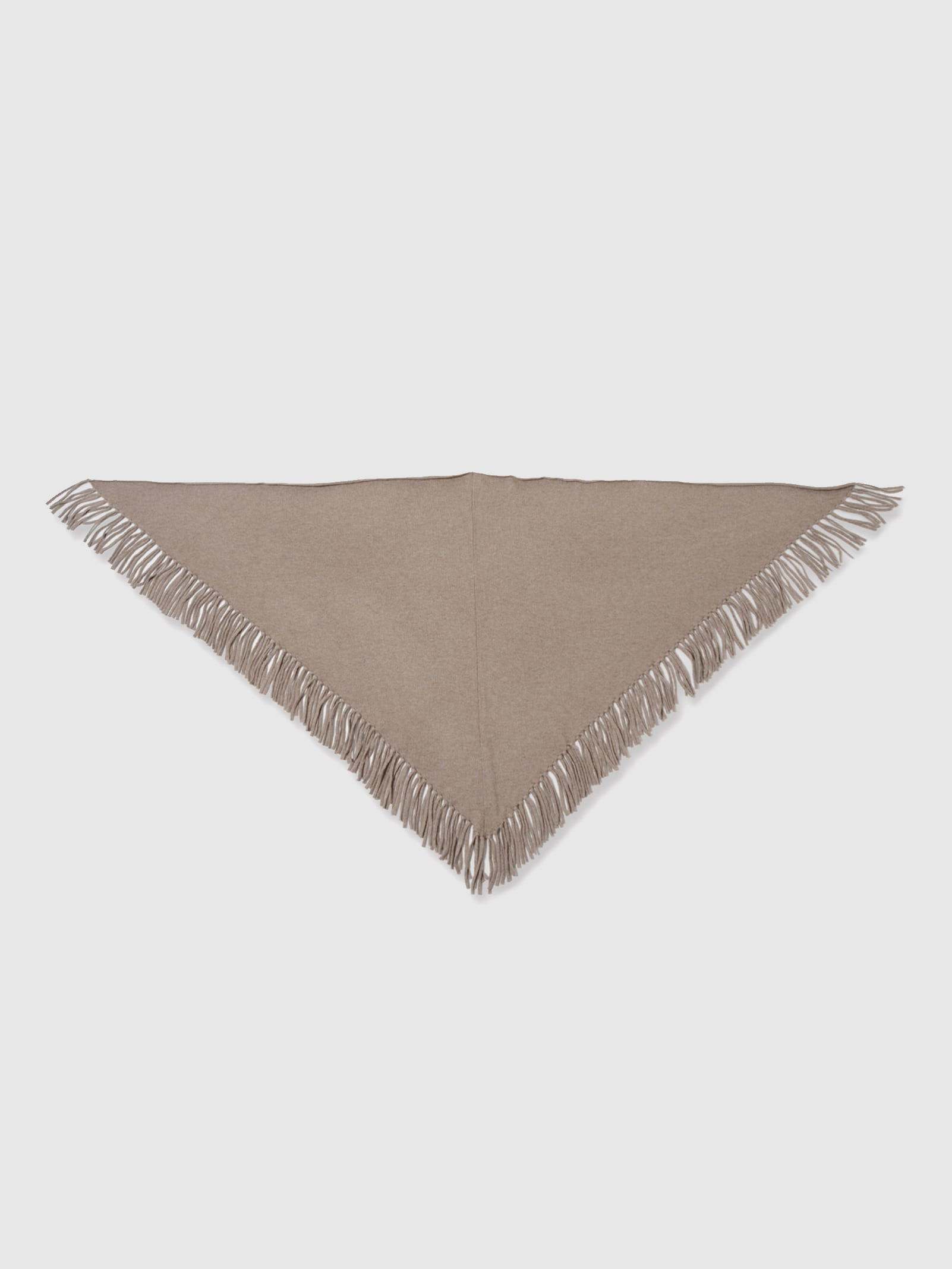 FRINGE SHAWL NATURAL