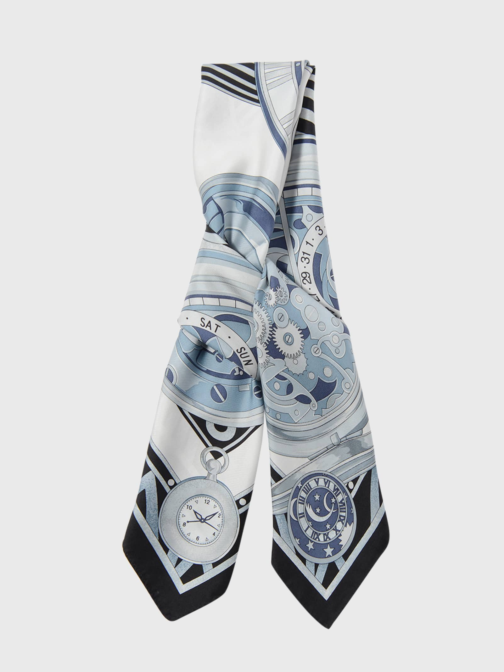 WATCH SILK SCARF