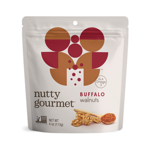 Load image into Gallery viewer, Buffalo Walnuts - 4 oz. Pouch