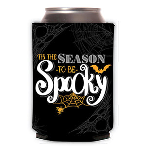 Tis the Season to be Spooky Can Cooler