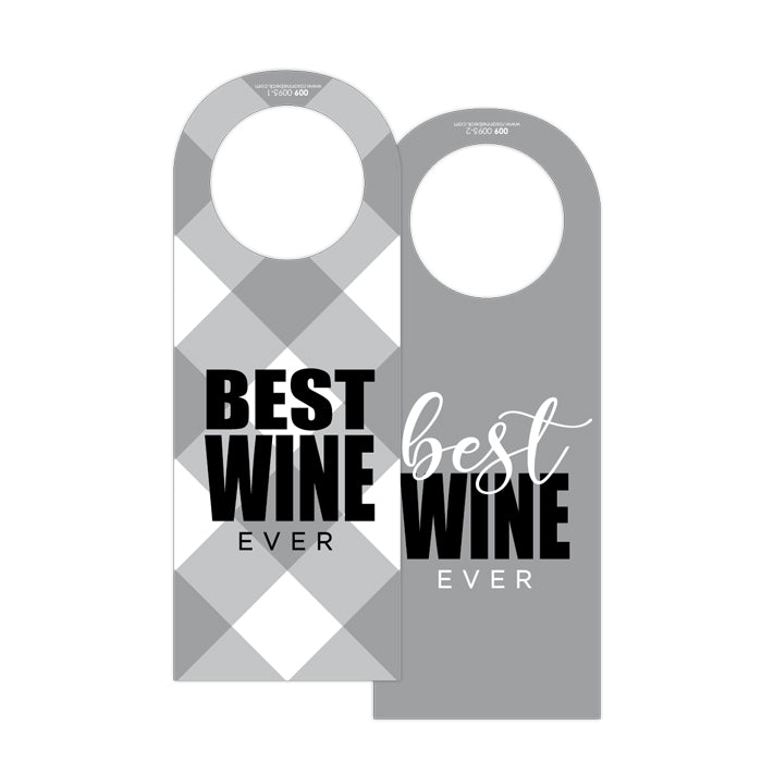 Best Wine Ever Wine Tag