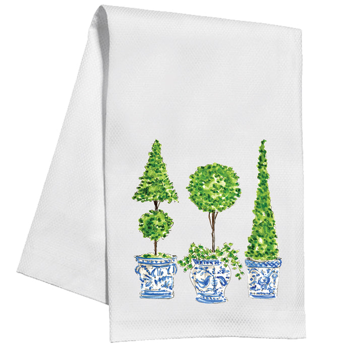 Ivy Topiary Trio Kitchen Towel