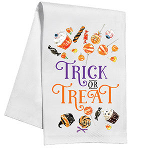 Trick or Treat Kitchen Towel