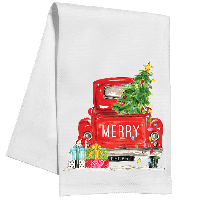 Vintage Car Kitchen Towel