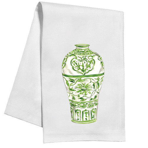 Green Urn Kitchen Towel