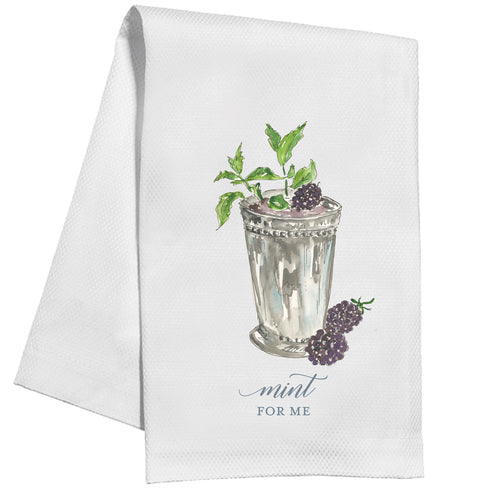 Mint For Me Kitchen Towel