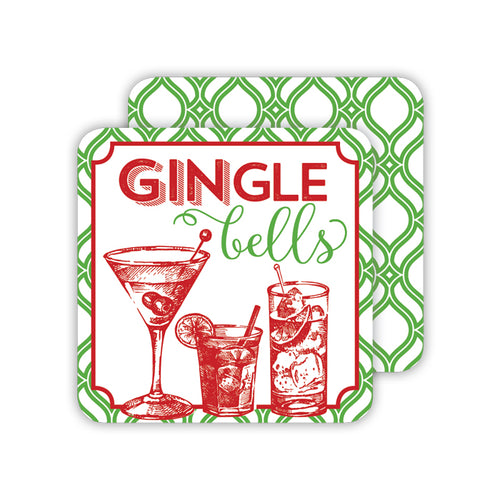 gingle Bells Coasters