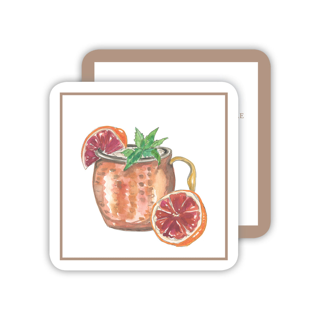 Moscow Mule Cocktail Coaster