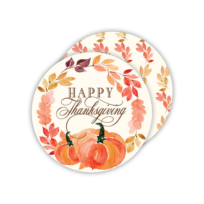 Happy Thanksgiving Coaster