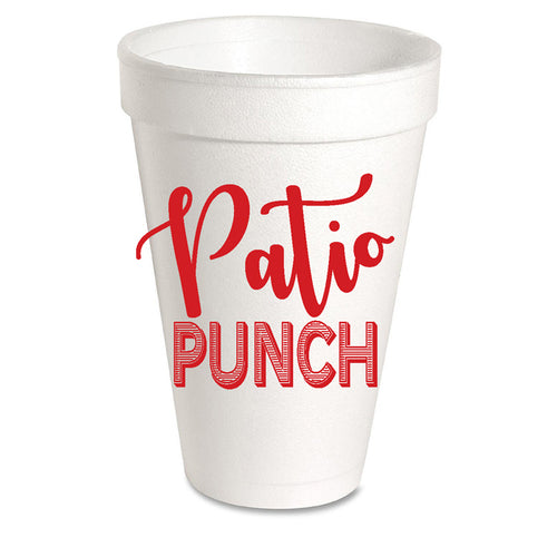 Patio Punch Styrofoam Cup