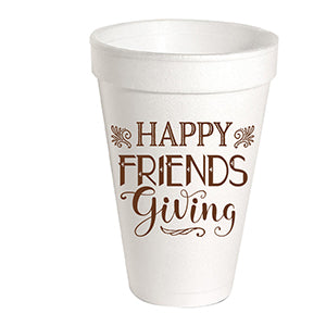 Happy Friendsgiving Styrofoam Cup