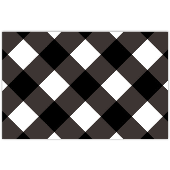 Black Buffalo Check Placemat