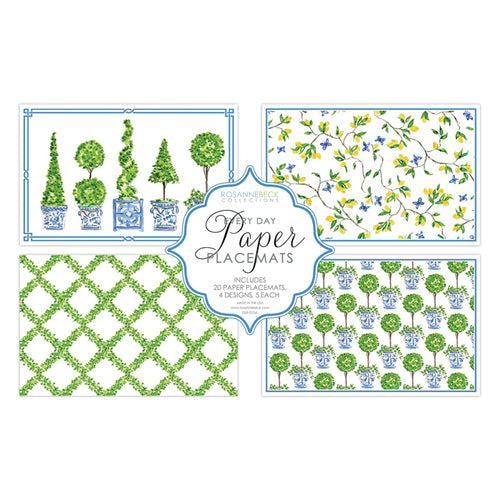 Topiary - Boxwood Mix Placemat