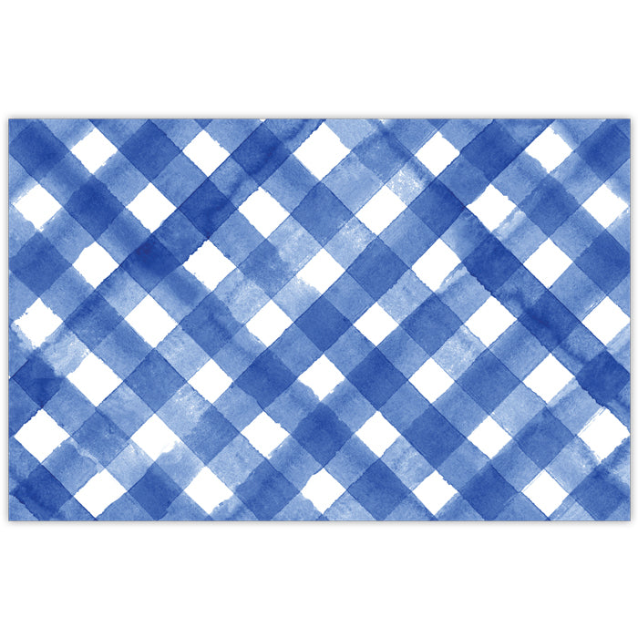 Blue Buffalo Check Placemat