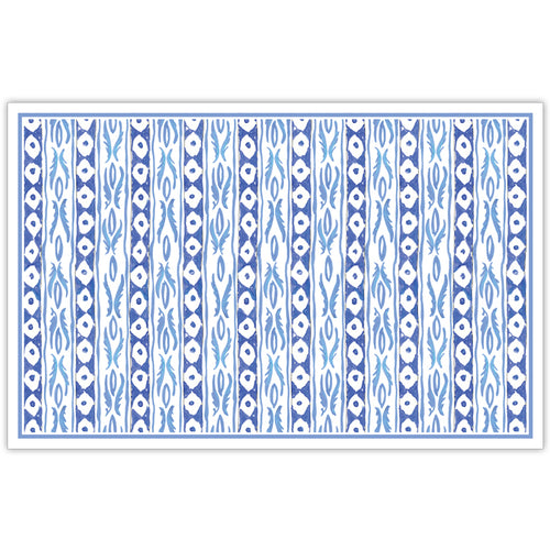 Two Blue Designs Placemat