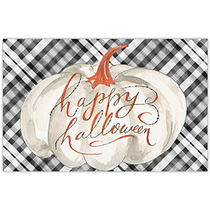 Happy Halloween White Gourd Placemat
