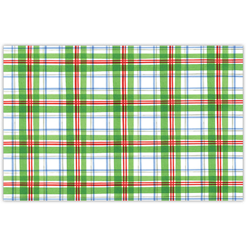 Holiday Plaid Placemat
