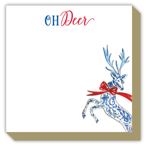 Oh Deer Holiday Reindeer Luxe Pad