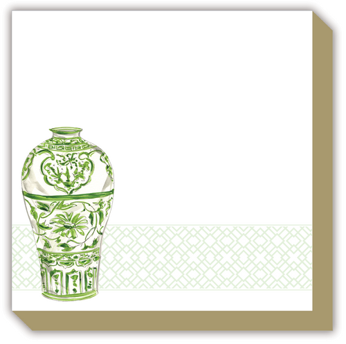 Green Urn Luxe Notepad