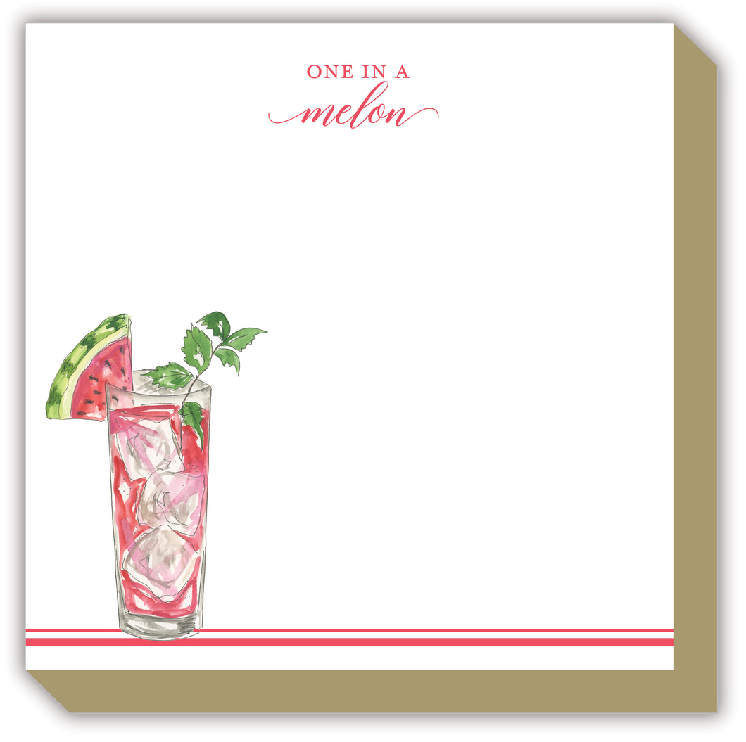 One In A Melon Luxe Notepad