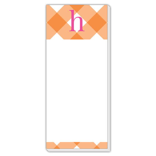 Buffalo Check H Skinny Notepad