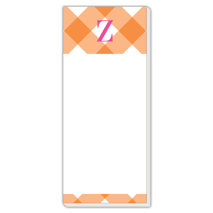 Buffalo Check Z Skinny Notepad