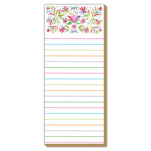 Colorful Floral Luxe Skinny Pad