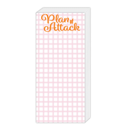 Plan of Attack Chunky Notepad