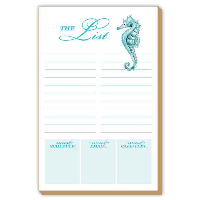 Seahorse The List Luxe Large Pad