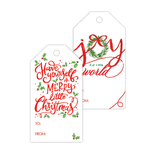 Joy Have Yourself A Merry Gift Tag