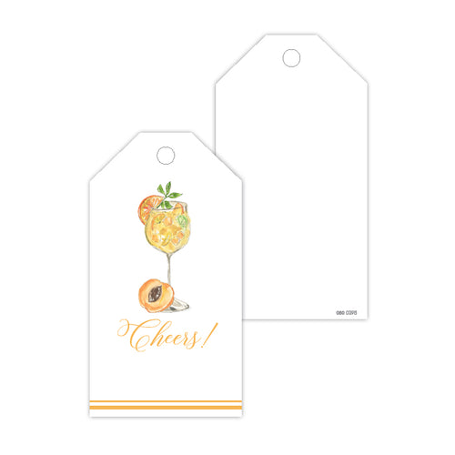 Cheers Cocktail Gift Tags