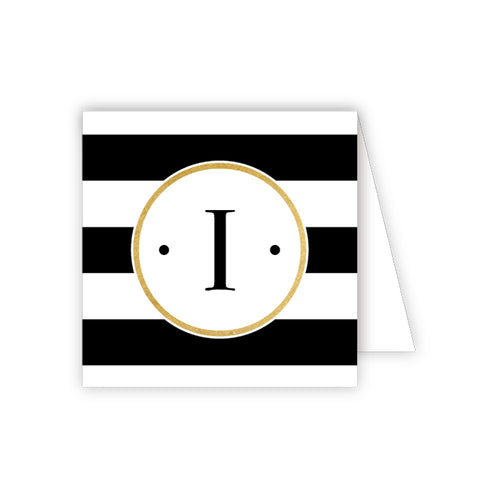Black Stripe I Enclosure Card