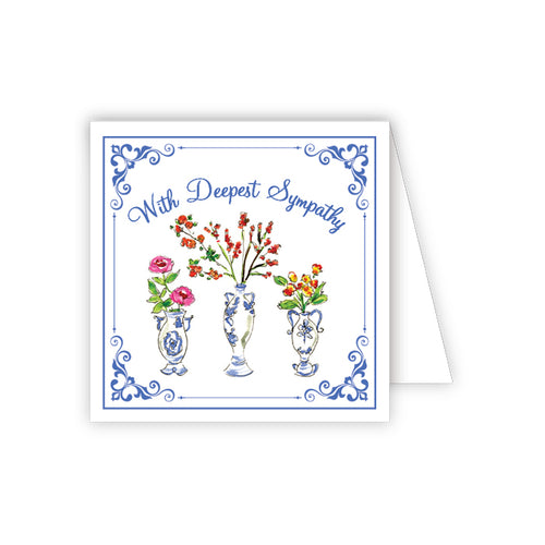 With Deepest Sympathy Enclosure Card