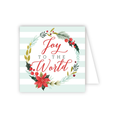 Joy To the World Enclosure Card