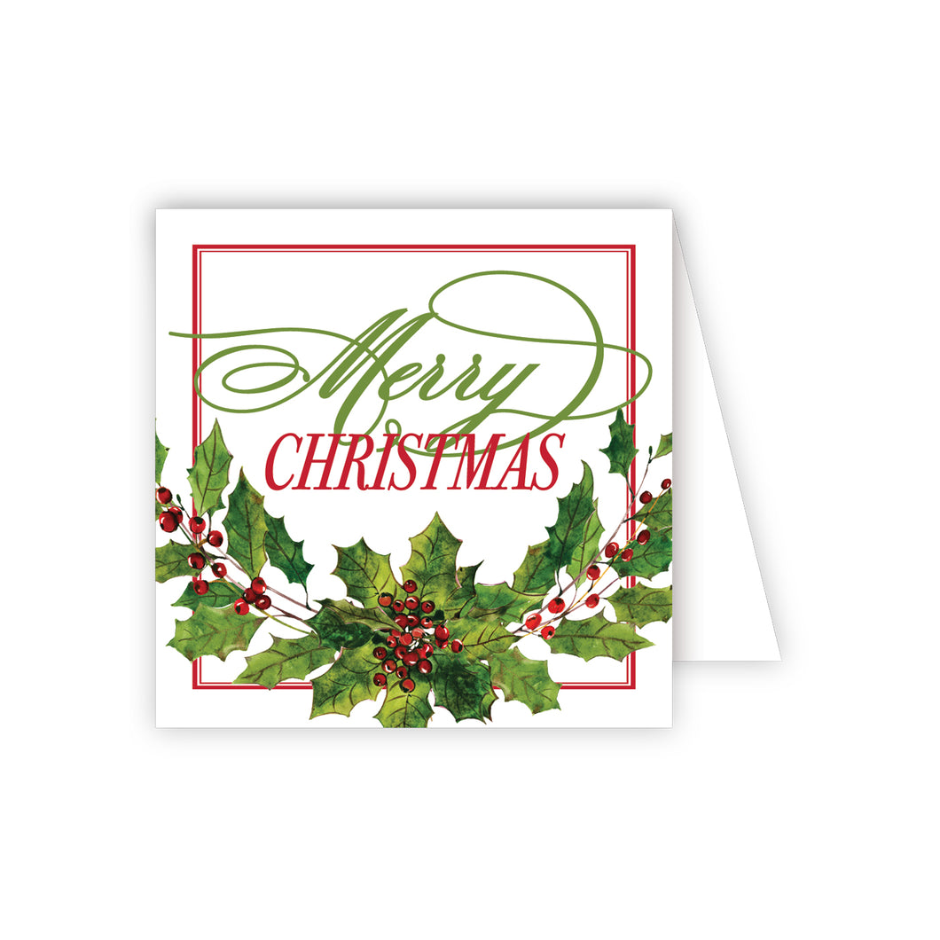 Merry Christmas Enclosure Card