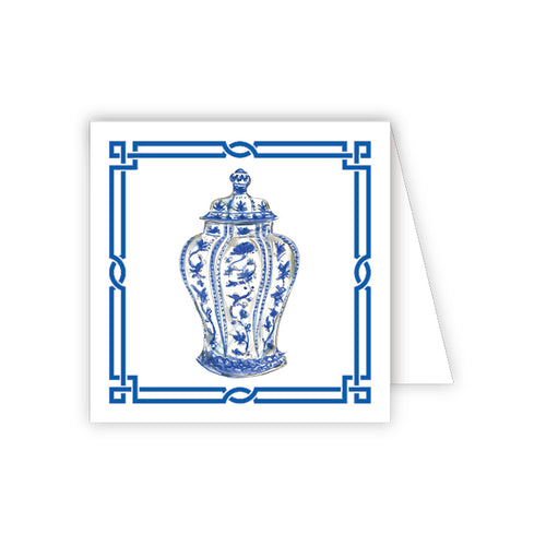 Blue Urn Enclosure Card