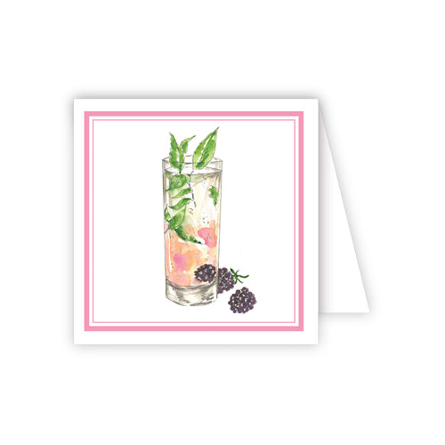 Raspberry Cocktail Enclosure Card