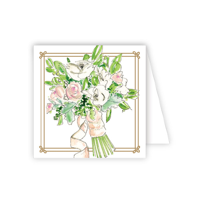 Wedding Bouquet Enclosure Card
