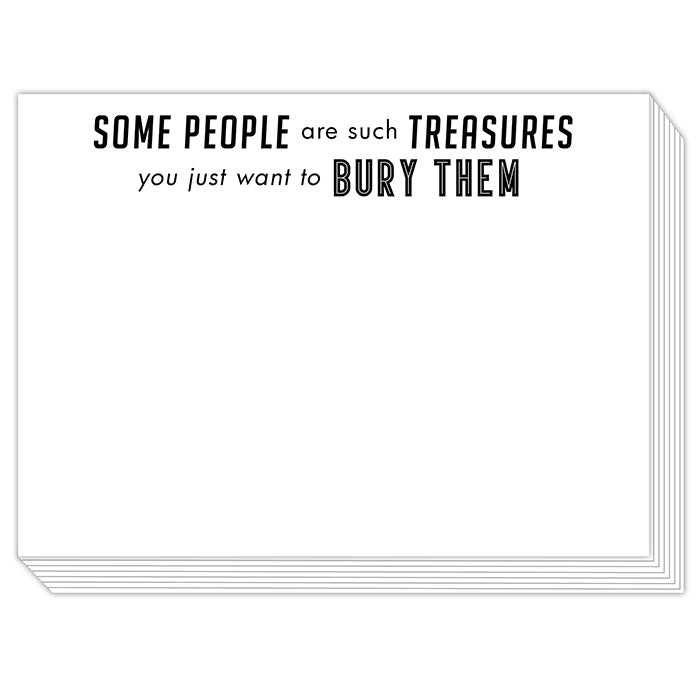 Some People are such Treasures Slab Pad