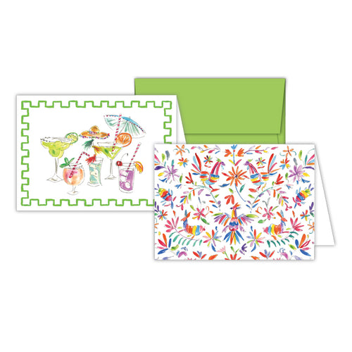 Fiesta Cocktails and Otomi Icons Petite Note