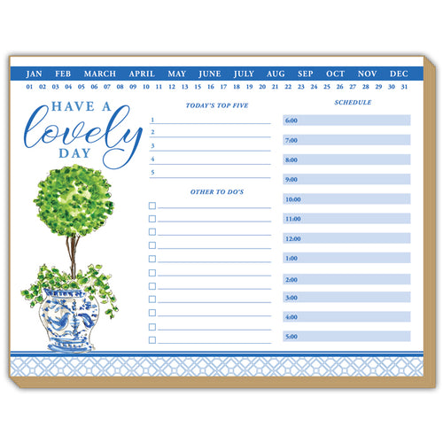 Topiary Daily Planner Luxe Planner