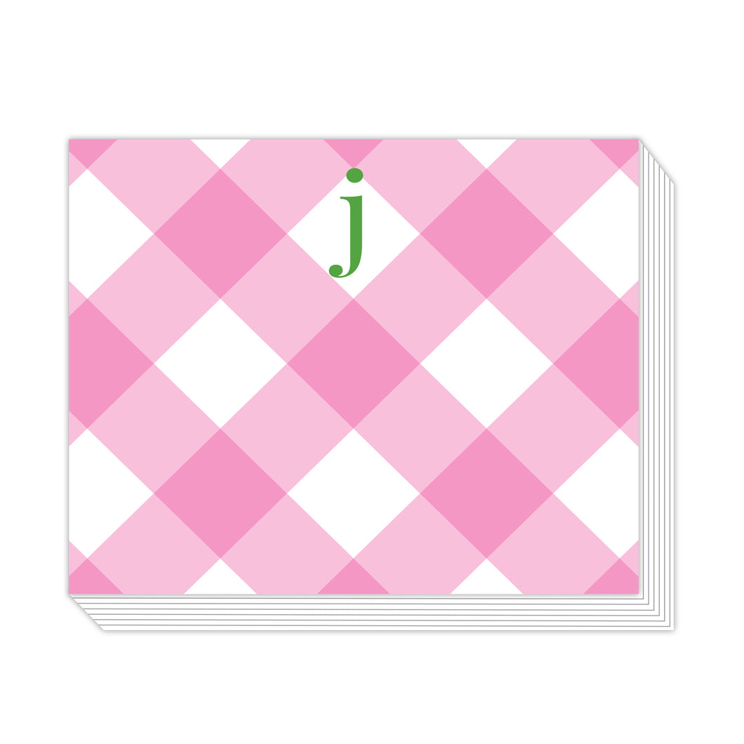 Buffalo Check J Notepad